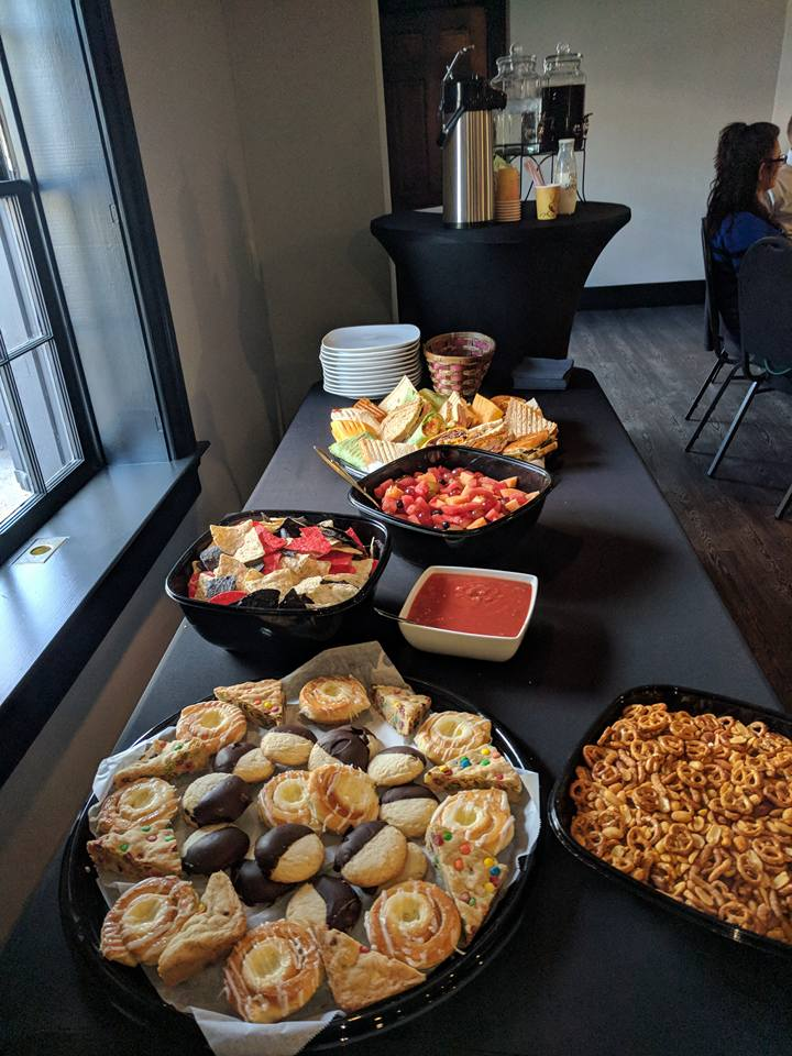 upper room catered lunch